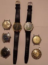 7 WATCH  LOT 4 TIMEXES, VANTAGE, TIMEX POOH  TIGGER F3 HOLOGRAM & MORE