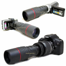 VK 10x 42 1000mm Digiscoping Telescope for Nikon Digital D3200 AF-s DX 18-55mm