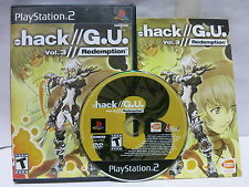 Sony PS2 .hack // G.U. Vol 3 Redemption PlayStation 2 Complete CIB
