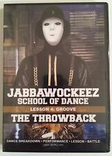 Jabbawockeez School Of Dance Lesson 4: Groove - The Throwback DVD Brand New