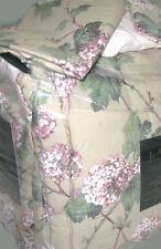 RALPH LAUREN Queen Bedding Set GREEN IVY AND HYDRANGEAS purple tan