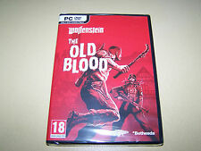 Wolfenstein The Old Blood ** New & Sealed**  PC