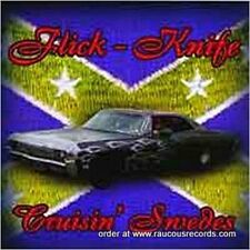 FLICK KNIFE Cruisin' Swedes CD NEW Great Teddyboy Rock & Roll Rockabilly Music