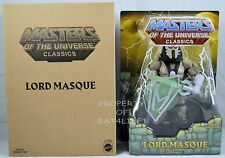 MASTERS OF THE UNIVERSE CLASSICS LORD MASQUE NEW!!!!