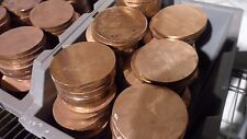 20 LBs. Rounds .999 Fine Copper Bullion Ingot Raw Materials Bundle