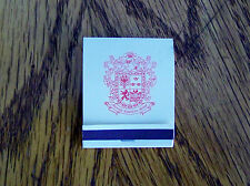 VINTAGE MATCHBOOK FROM THE BEVERLYHILLS WILSHIRE HOTEL. NEW. (4321).