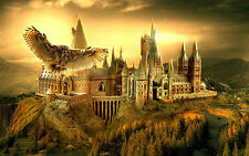 "HARRY POTTER HOGWARTS Large Canvas Print  A1 30"" x 20"""