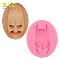 3D Batman face Mask Silicone Fondant Mould Cake Decorating Chocolate Baking Mold