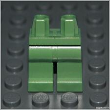 Lego Star Wars x1 Sand Green Plain Legs City Soldier Boy Girl Minifigure NEW