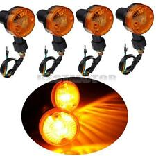 4pcs 12V Feu Clignotant Ampoule Ambre Indicateur de direction Pr Moto Motocycle