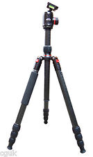 "Venturer 4 Section PRO CF Carbon Fibre Fiber Tripod 72"" 25kg with 44mm Ballhead"