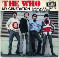 """THE WHO """"MY GENERATION"""" ORIG FR EP 1965"""