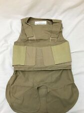 Safariland Low Vis Body Armor and Plate CarrieVest Tan Large LE NSN