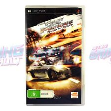 The Fast and the Furious SONY PSP PAL [Complete] [GC] Arcade Automobile RGV