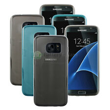 Lot of 3 Black/Blue/Clear Genuine Soft Slim Case Skin for Samsung Galaxy S7 Edge
