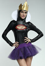 Sexy Women's Snow White Fairytale Witch Fancy Dress Costume