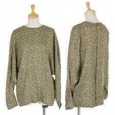 YOSHIE INABA Silk Dolman sleeve back button shirt Size About  L(K-26989)