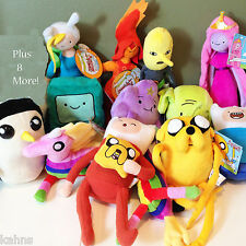 Adventure Time - Full Set of 19 Plush - FREE SHIPPING!! - NWT - Low Price!