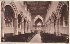 The Cathedral Nave, BANGOR, Caernarvonshire