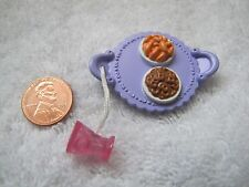 FISHER PRICE Loving Family Dollhouse PRETZELS CHEETOS Food Snack Tray w/ DRINK