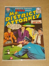 MR DISTRICT ATTORNEY #52 VG+ (4.5) DC COMICS AUGUST 1956 **