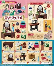 Re-ment Miniature Dollhouse Japan Japanese Modern Girl rement Full set of 8