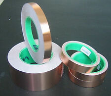 15mm x 30Meter Copper Foil Adhesive Tape Insulation / RF / EMI Shield Shielding