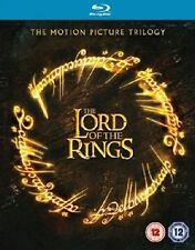 THE LORD OF THE RINGS - TRILOGY - BLU RAY - NEW / SEALED - UK STOCK