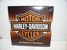 2015 Harley Davidson Mororcycle 16 Month Calendar