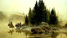 """Frank McCarthy """"Out of the Mist They Came"""" limited edition print"""