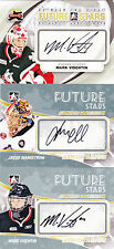 10-11 ITG Jacob Markstrom Auto Between The Pipes Future Stars