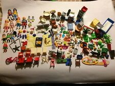 HUGE Playmobil Pieces Lot with People, Animals, Food, Housewares, Furniture, Etc