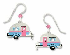 Road Trip! Retro Travel Trailer EARRINGS by Sienna Sky Sterling Silver - Boxed