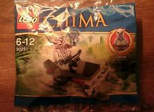 "LEGO CHIMA Set No.30251 ""Winzar's Pack Patrol"" - NEW FACTORY SEALED POLYBAG"