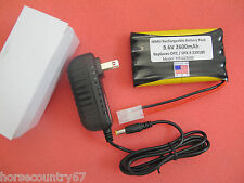 Replacement OTC 9.6V 2600 Battery w/Safety Feature & AC Charger Genisys EVO L@@K
