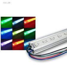 (54,98€/m) RGB LED LichtLeiste 50cm Alu STRIP SMD LEDs Unterbauleuchte
