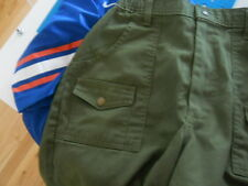 Boy Scouts of America green shorts  youth size 28 waist