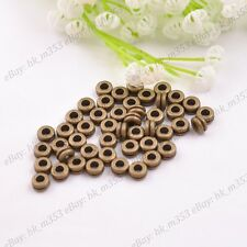 6MM Tibetan Silver/Gold/Bronze Rings Spacer Beads Jewelry Findings 100Pcs K3037