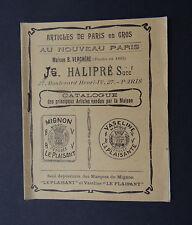 Catalogue AU NOUVEAU PARIS HALIPRE  VERCHERE Mignon Vaseline La Plaisante