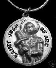 LOOK 1933 Saint Joan of Arc patron of Soldiers Silver charm