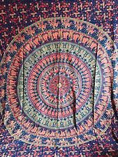 Queen Hippie Indian Tapestry Mandala Throw Wall Hanging Gypsy Bedspread Decor UK