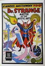 DR STRANGE Master Of The Mystic Arts MARVEL MASTERWORKS Pin Up Poster