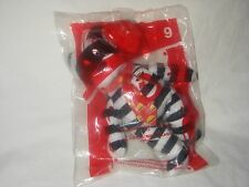 MCDONALDS HAPPY MEAL TOY TY HAMBURGLAR THE BEAR #9 2004 NEW IN PACKAGE