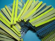 1280PCS 64 Value 1 ohm - 10M ohm 1/4W  Metal Film Resistors Assortment Kit