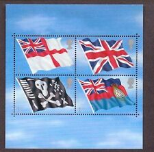 2001 Flags & Ensigns GB Miniature Sheet, unmounted mint, SG MS2206