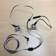 Bose IE2 In-Ear Headphones With case and new spare earbuds.
