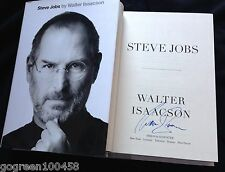 Walter Isaaccson signed book Steve Jobs movie film Apple Computer photo HC/DJ