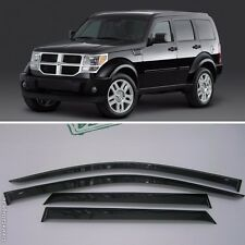 For Dodge Nitro 2007-2010 Window Visors Side Sun Rain Guard Vent Deflectors