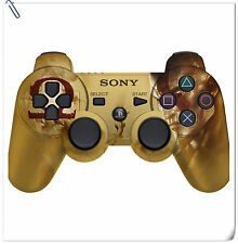 LIMITED PS3 Dualshock God of War Ascension Gold Controller Wireless bulk pack