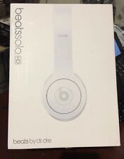 Beats by Dr. Dre Solo HD White  Headphones